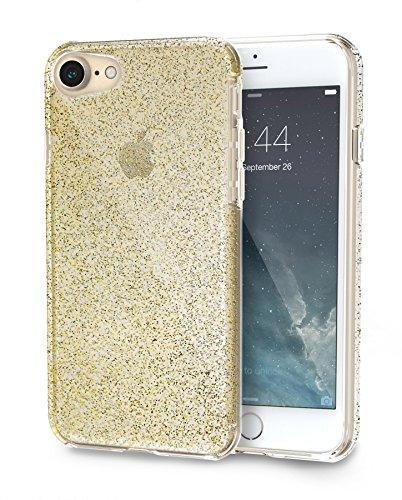 PureView para iPhone 7 [capa brilhante ultrafina e transparente], iPhone 7 / 8, iPhone 7, Goldilocks