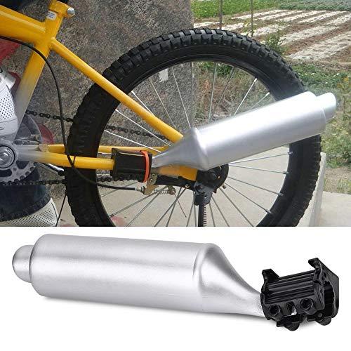 VGEBY1 Bike Auspuff, Fashion Motorrad Auspuff Endrohr Auspuff Schalldämpfer Cycling Turbo Pipe Auspuffanlage Fahrradspeichen Sound Maker Cards Kit