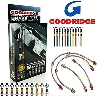 Goodridge Kit Latiguillos de Freno para Suzuki Rápido Gti SSZ0201-4C