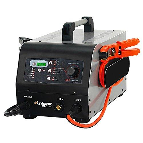 Stürmer Maschinen GmbH UNICRAFT MBC 55 S Batterieladegerät Batteriestartgerät multifunktional Tischmodell Schnellstart