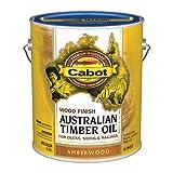 Cabot 19457-07 Samuel INC Wood Finish, Gallon, Amberwood