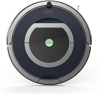 iRobot Roomba 785 - aspiradoras robotizadas (Gris, Plata, Sin bolsa, Alfombra, Clim, 60 Db, N?quel-Hidruro met?lico (NiMH), 120 m_)