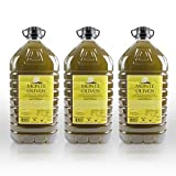 Monte Olivos - Aceite de Oliva Virgen Extra - sin filtrar - 3 garrafas de 5 litros -