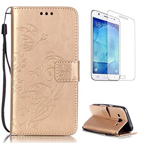 CaseHome Compatible For Samsung Galaxy Core Prime SM-G360F Funda Piel PU Cuero...