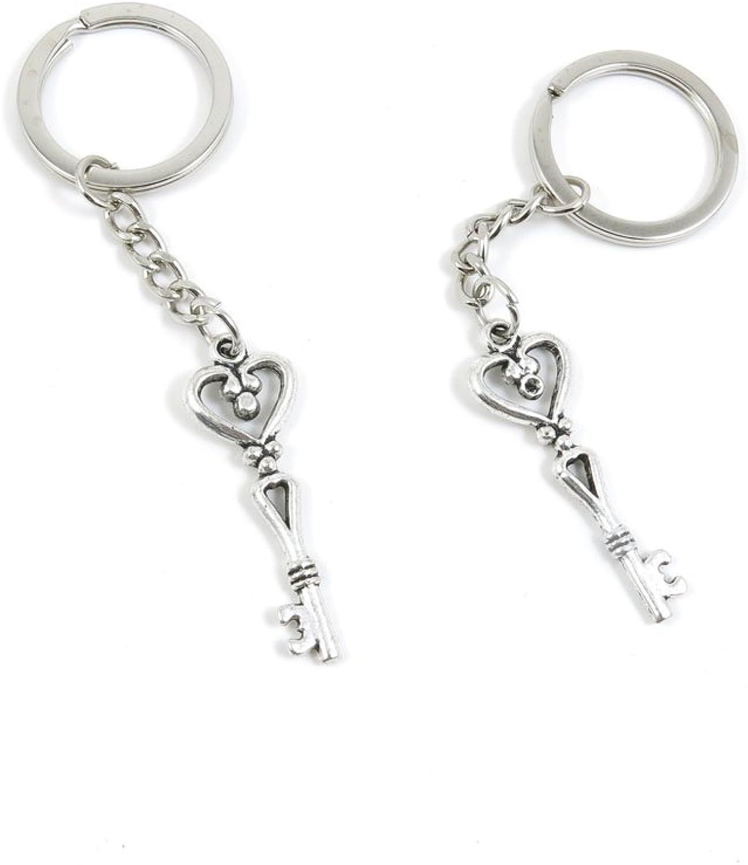 190 Pieces Fashion Jewelry Keyring Keychain Door Car Key Tag Ring Chain Supplier Supply Wholesale Bulk Lots Z3UW4 Magic Skeleton Key