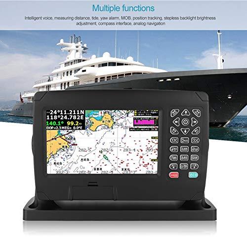 GPS nautico cartografico, 200 rotte e 10000 waypoint Funzioni multiple Posizionatore di navigazione per navigazione e posizionamento