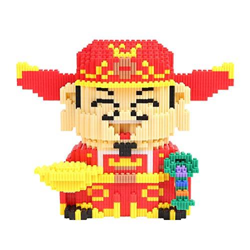 Mr.LQ Nano Bloques De Construcción para Niños, Modelos De Personajes De Juegos, Mini Juguetes Educativos De Construcción De Bricolaje, Ladrillos De Construcción Divertidos