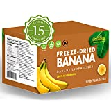 CONTAINS: 15 convenient single-serve bags high-quality, hand-sliced delicious freeze-dried fruit with NO ADDED SUGAR 100% ALL NATURAL - made with real fruits and contains zero artificial colors or preservatives Health AND CERTIFICTION: Non-GMO Projec...