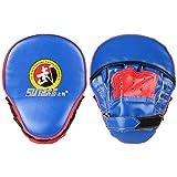 Guantes de boxeo Kick Boxing Muay Thai Almohadillas de boxeo Guantes de entrenamiento de boxeo Almohadillas de boxeo Manoplas para deportes al aire libre Equipo de práctica de boxeo Almohadillas de