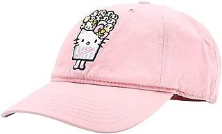 Tokidoki X Hello Kitty Popcorn Kitty Dad Hat in Pink