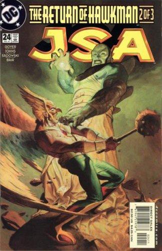 JSA 24 - The Return of Hawkman Part 2 of 3 - Hawkman -...