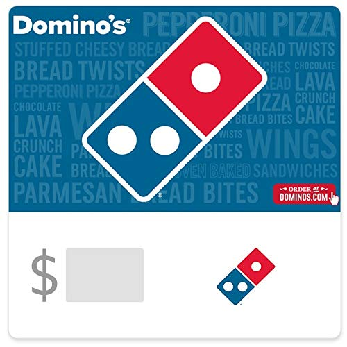 Dominos Pizza Gift Cards - E-mail Delivery