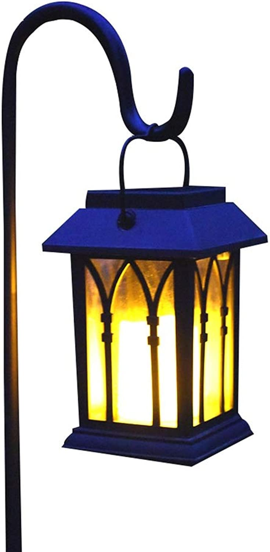 WXCCK Solarleuchte Outdoor Garten Rasen Licht Wasserdicht Garten Landschaft Licht Stecker Licht Kontrolle Flame Kerze Windlicht