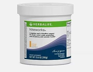 Herbalife Niteworks Powder Mix-orange-mango 10.6 Oz Size by Herbalife