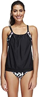 Romance8 Swimsuit Womens Plus Size, Bikini Sets Tankini Oversize Flower Push up
