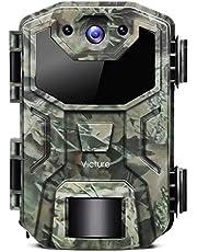 Victure vilda djur kamera 20 MP 1080P spår spelkamera rörelse aktiverad med professionell IP66 vattentät design för djurliv titta