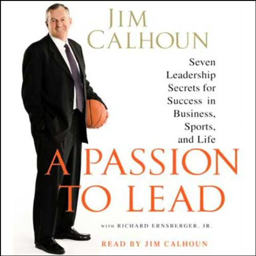 A Passion to Lead audiobook cover art