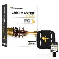 Humminbird LakeMaster Great Lakes Edition Digital GPS Lake Maps, Micro SD Card, Version 4