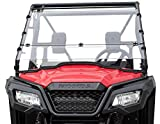 Clearly Tough Honda Pioneer 500/520 Windshield - Full Folding -Scratch Resistant- Ultimate in SXS Versatility! Easy on and Off. Full to Half in secondsPremium Poly w/Scratch Resistant Hard Coat