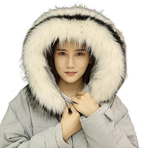 Hosaire 1X Bufanda Fulares Estilo de Color S/ólido Bufanda de Abrigo de Invierno con Cuello Grueso y Bufanda para Mujer y Hombre Bufanda de Cuello,Mejor Regalo Gris