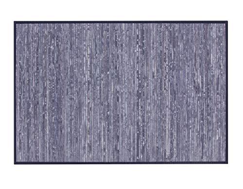 thesecrethome.es Alfombra Bambu - Azul 160x230 cm - Antideslizante Decoracion Salon Habitacion Comedor