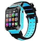 Los Últimos E7 4G Smart Watch para Niños GPS WiFi Seguimiento Vídeo De Voz Llamada Chat Pedómetro Mensaje Push Boy Girl Student,C