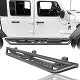 Hooke Road Gladiator Rock Slider Side Step Nerf Rails Running Board Compatible with Jeep Gladiator JT Pickup Truck 2020 2021