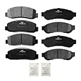 YXPCARS Front & Rear Ceramic Brake Pads D1069 D1067 For 2008-2012 Ford F-250 Super Duty, 2005-2012 F-350 Super Duty