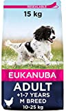 Eukanuba Alimento seco para perros adultos de razas medianas con pollo...