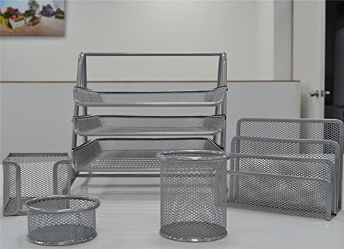 Shine MESH Office Set of 5 Pices...