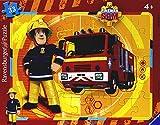 Ravensburger- Sam Il Pompiere Puzzle per Bambini, Multicolore, 15 Pezzi, 06132 7