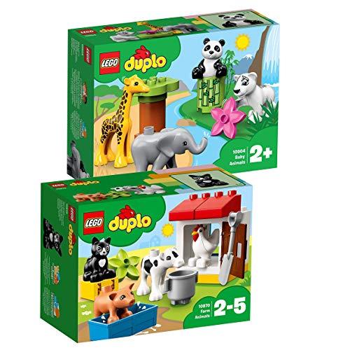 LEGO Duplo Set: 10870 Tiere auf dem Bauernhof + 10904 Süsse Tierkinder
