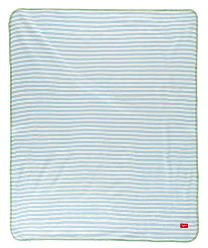 sigikid 41055, fille et garçon, couverture, bleu/vert, taille 100 x 75 cm, 'Quendolin Quappe'
