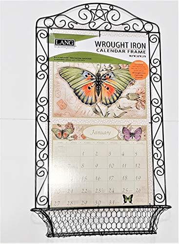 "LANG ""Wrought Iron"" Calendar Frame"