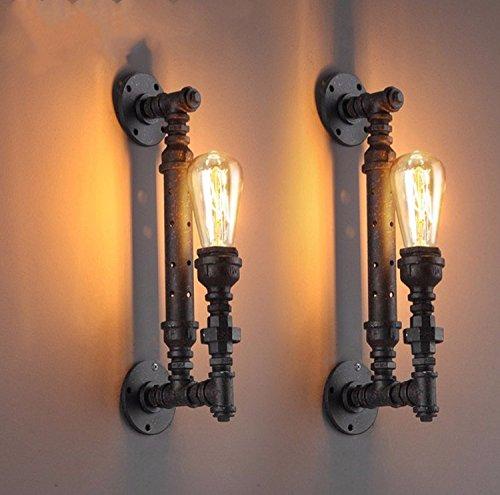 YU-K Minimalistisch slaapkamer bedlampje muur stijlvolle woonkamer muur lamp studeerkleed industriële stijl muur ijzeren buizen voor strakke balket terras van rijlampen