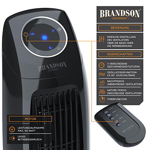 Brandson – Turmventilator  Fernbedinung Bild 3*