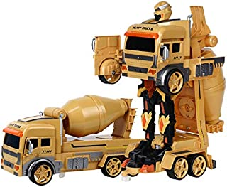 FairOnly RC Transform Car Robot Toy Dump Truck Excavator Gesture Remote Control Gift Toys for Kids Toys for Boys GW130 VS Dropship Cement Truck Toys