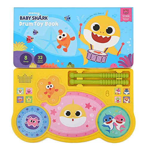 Pinkfong Baby Shark Drum Toy Book Now $11.75 (Was $34.99)