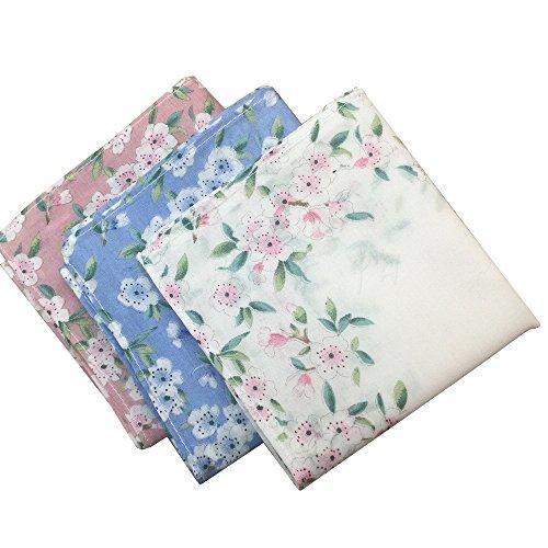 Ladies Printing Floral Handkerchiefs (6)