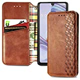 Cmeka for LG Stylo 6 Wallet Case   PU Leather   Soft TPU Protective Case   RFID Blocking   Card Slots   Kickstand   Magnetic Wallet Closure   Flip Phone Cover for LG Stylo 6 2020 Brown