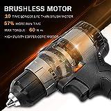 Immagine 2 trapano avvitatore batteria 20v brushless