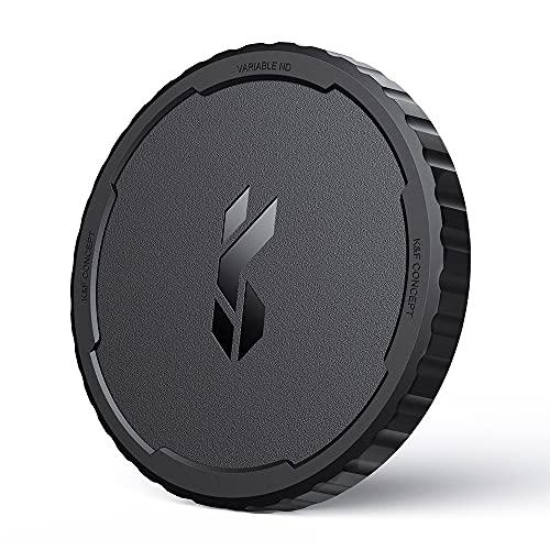 K&F Concept Objektivdeckel für Variabler Graufilter ND Filter, 77mm Filterkappen zur Aufbewahrung