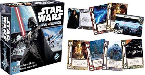 Asmodee Ediciones FFGSW02 Asmodee Star Wars: Empire vs Rebellion, Multicolor