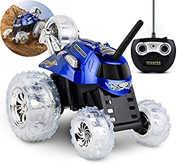 Sharper Image Toy RC Monster Spinning Car