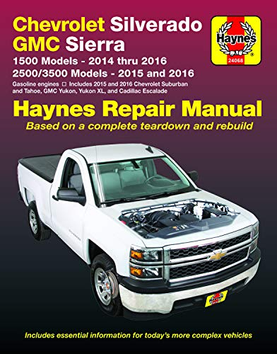 Chevrolet Silverado & GMC 1500 Pick-Ups (14-16) & 2500/3500 Pick-Ups (15-16) Including 2015 & 2016…