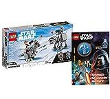 Collectix Lego 75298 Star Wars at-at™ vs. Tauntaun™ Microfighters 75298 + Lego Star Wars Aventureros cósmicos (cubierta blanda)