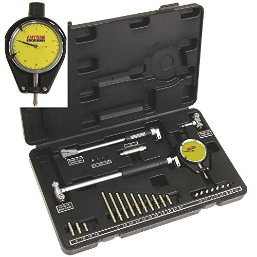 Anytime Tools Dial Bore Gauge 0.7'-6'/0.0005' Deep Engine Hole Cylinder Measurement Gage