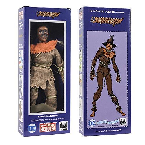 DC Comics Retro Style Boxed 8 Inch Action Figures: Scarecrow