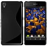 mumbi 204 - Funda para móvil Sony Xperia Z3, Negro