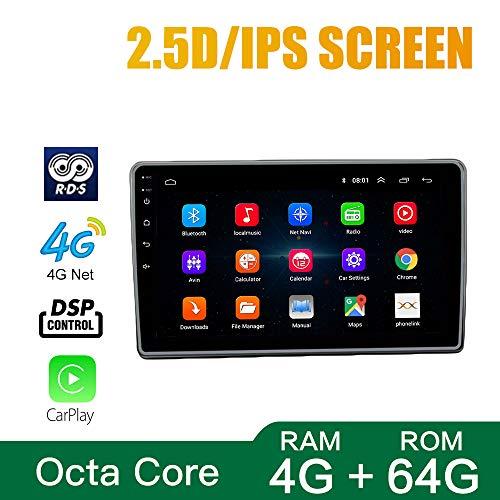 Android 10 Octa Core 4GB Ram 64GB ROM DSP CarPlay GPS Radio Car Navigation for Mahindra KUV100